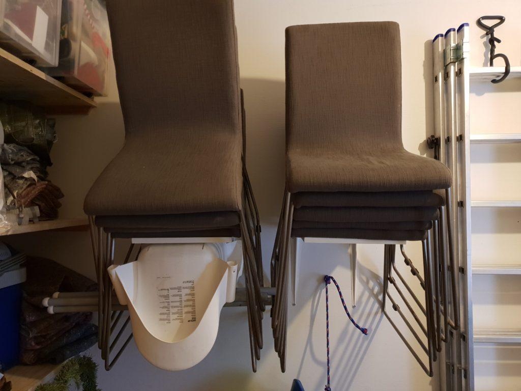 Ophæng af stole